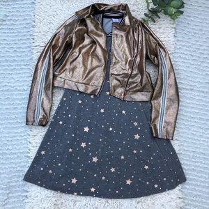 Wonder nation girls jacket and dress bundle